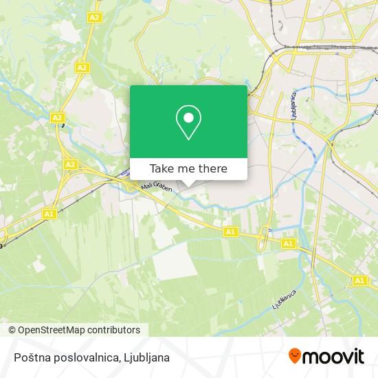 Poštna poslovalnica map