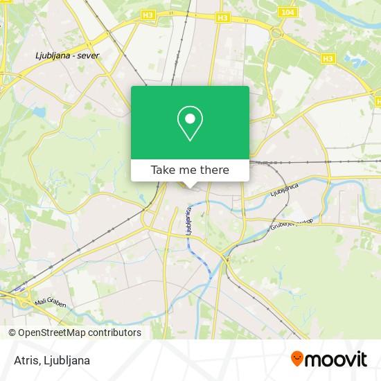 Atris map