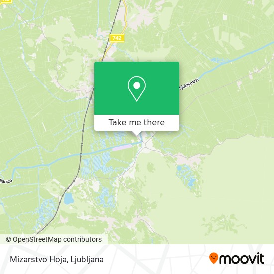 Mizarstvo Hoja map