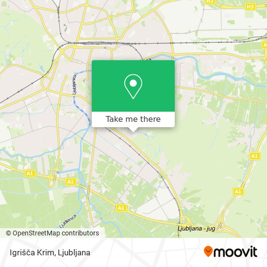 Igrišča Krim map