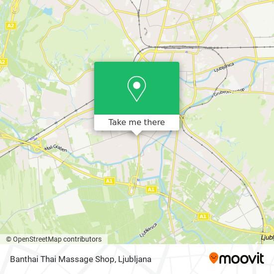 Banthai Thai Massage Shop map