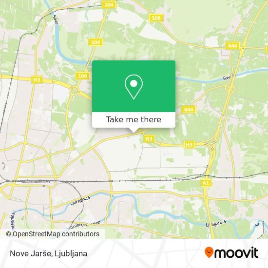 Nove Jarše map