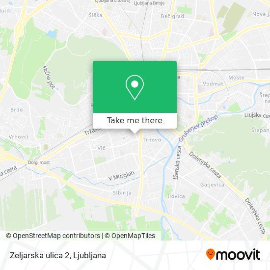 Zeljarska ulica 2 map
