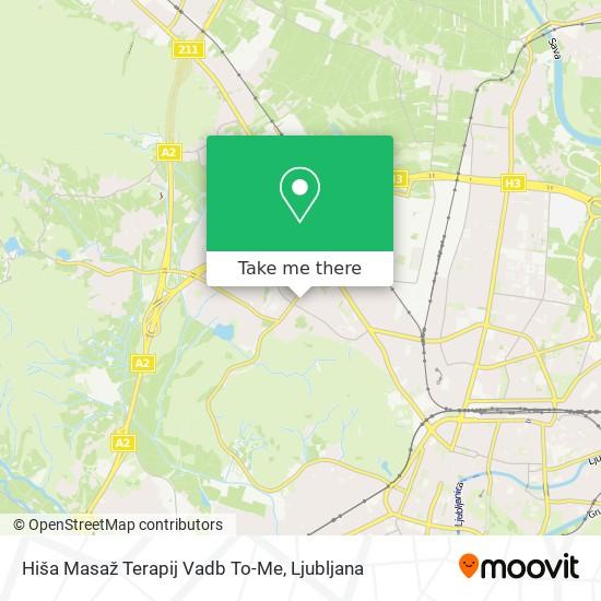 Hiša Masaž Terapij Vadb To-Me map