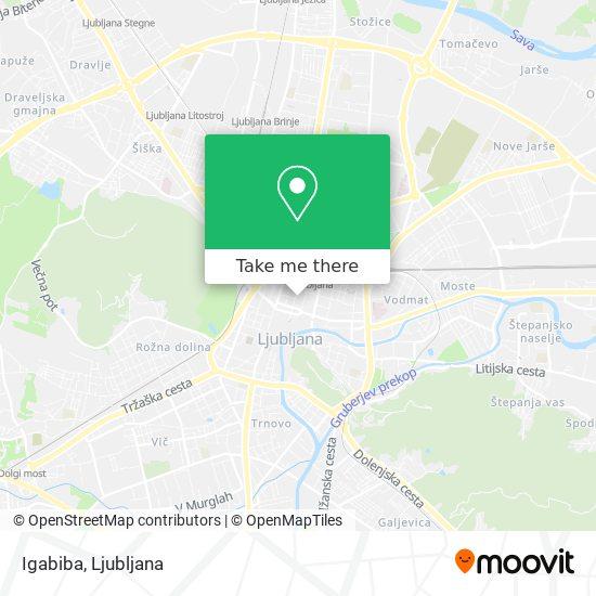 Igabiba map