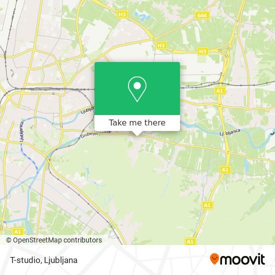 T-studio map