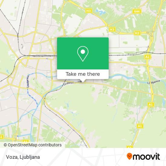 Voza map
