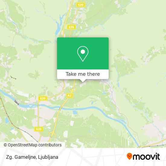 Zg. Gameljne map