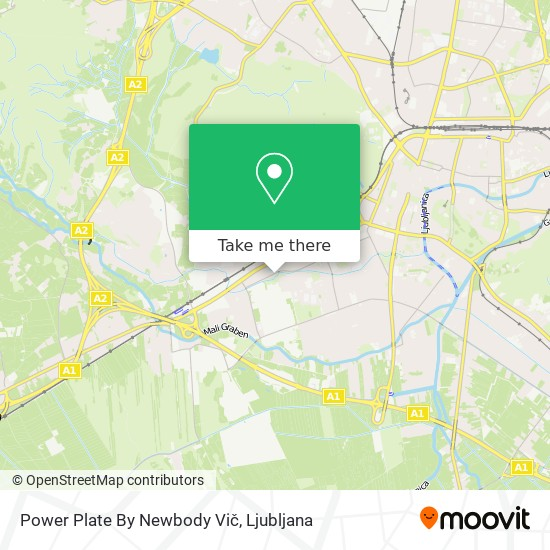 Power Plate By Newbody Vič map