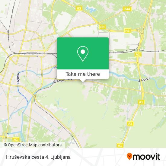 Hruševska cesta 4 map