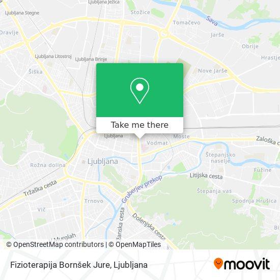 Fizioterapija Bornšek Jure map