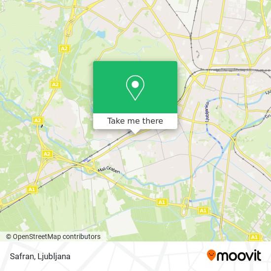 Safran map