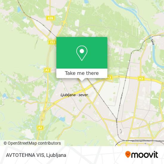 AVTOTEHNA VIS map