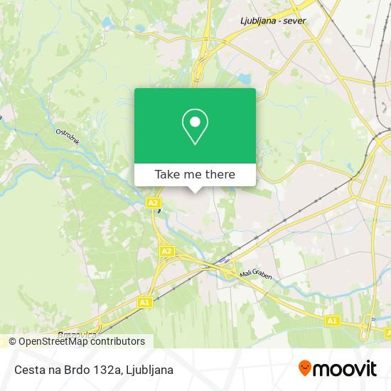 Cesta na Brdo 132a map