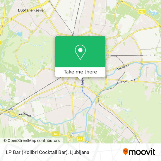 LP Bar (Kolibri Cocktail Bar) map