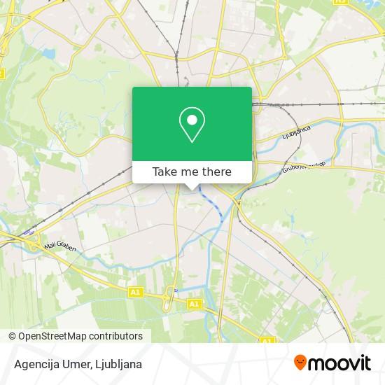 Agencija Umer map