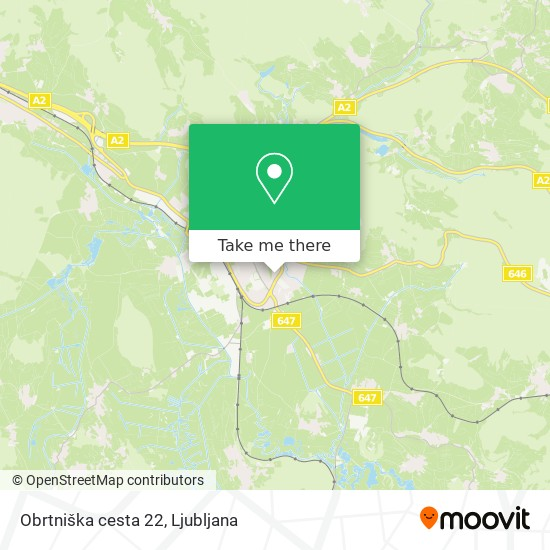Obrtniška cesta 22 map