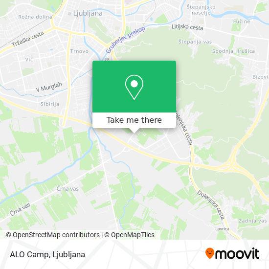 ALO Camp map
