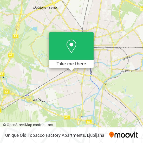 Unique Old Tobacco Factory Apartments map