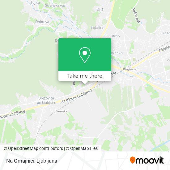 Na Gmajnici map