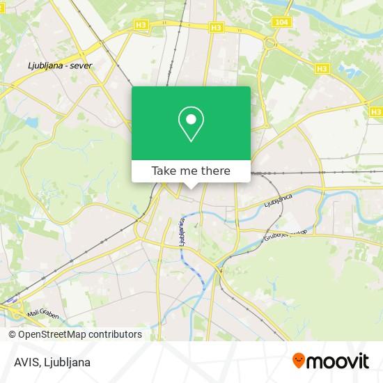AVIS map