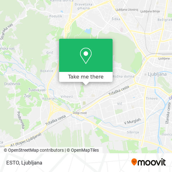 ESTO map