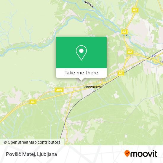Povšič Matej map