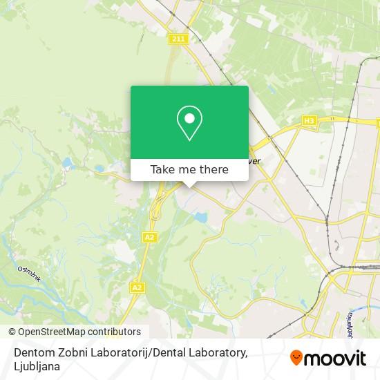 Dentom Zobni Laboratorij / Dental Laboratory map