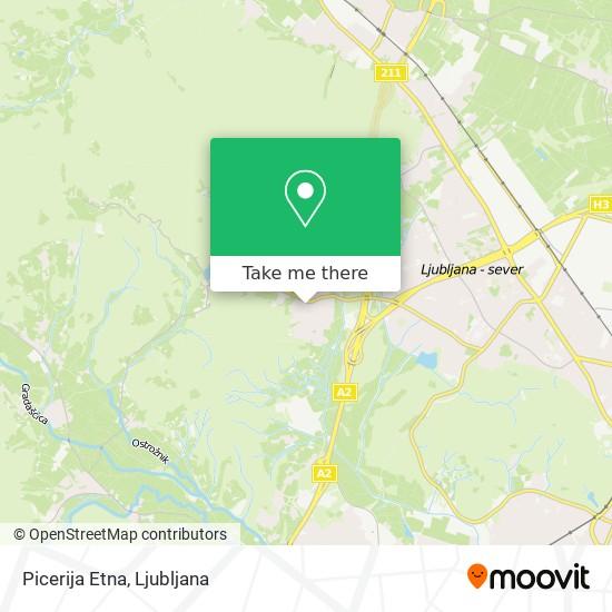 Picerija Etna map