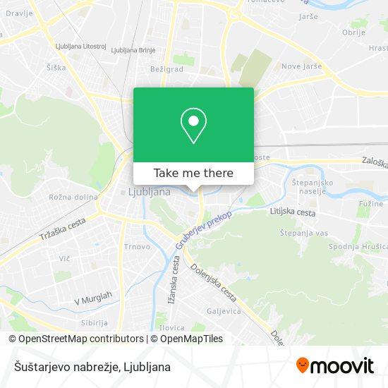 Šuštarjevo nabrežje map