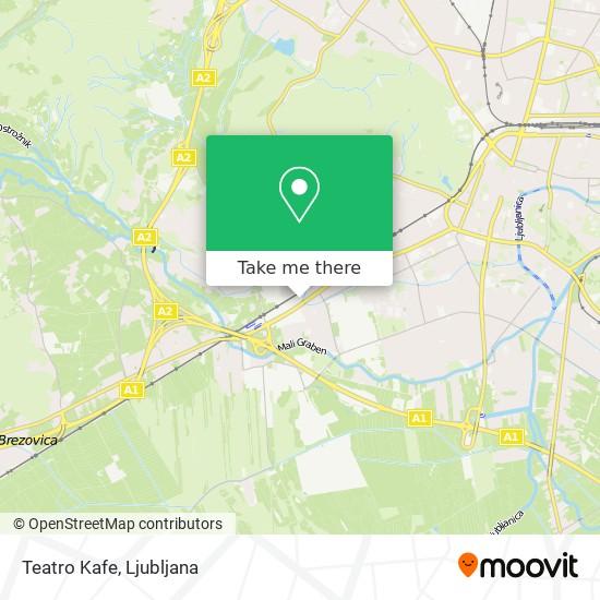 Teatro Kafe map