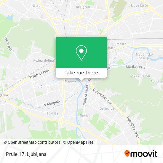 Prule 17 map