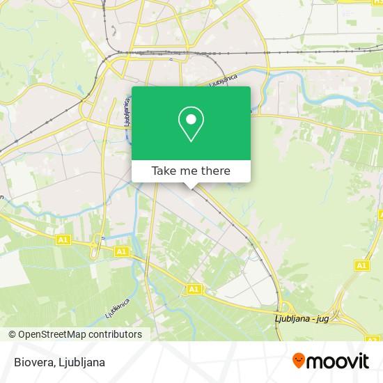 Biovera map
