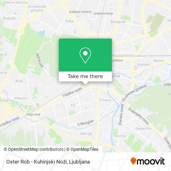 Oster Rob - Kuhinjski Noži map