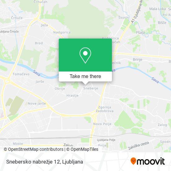 Snebersko nabrežje 12 map
