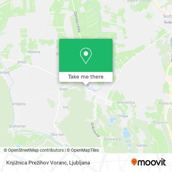 Knjižnica Prežihov Voranc map