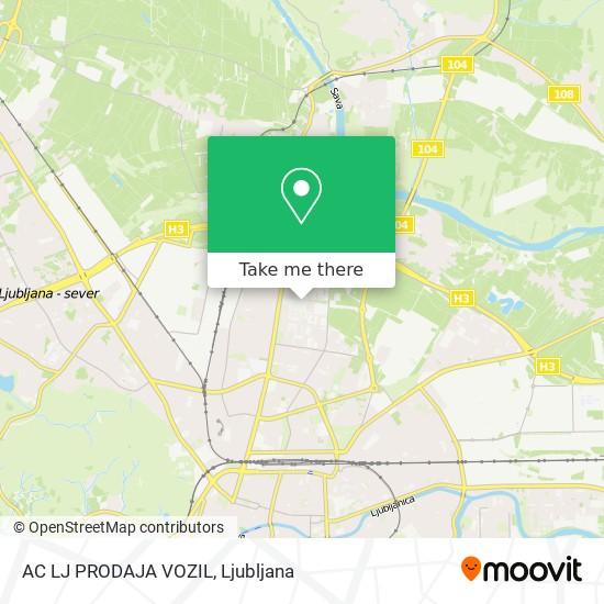 AC LJ PRODAJA VOZIL map