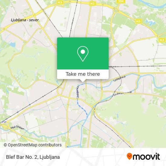 Blef Bar No. 2 map