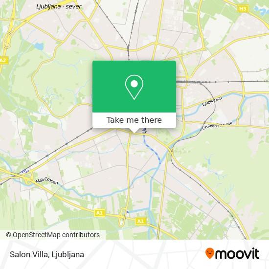 Salon Villa map