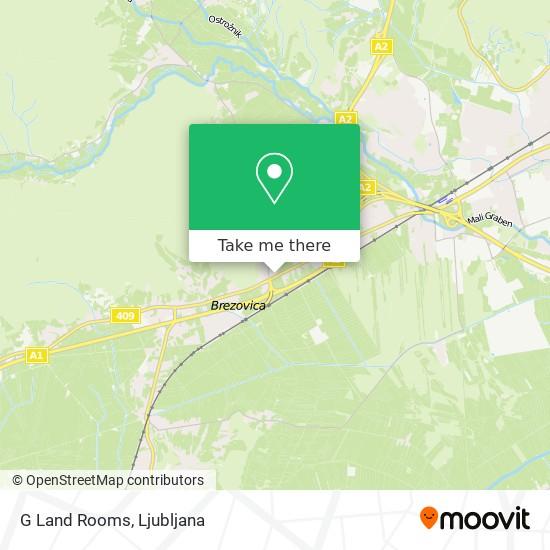 G Land Rooms map