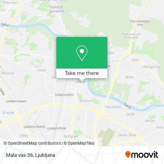 Mala vas 36 map