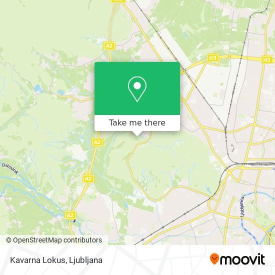 Kavarna Lokus map