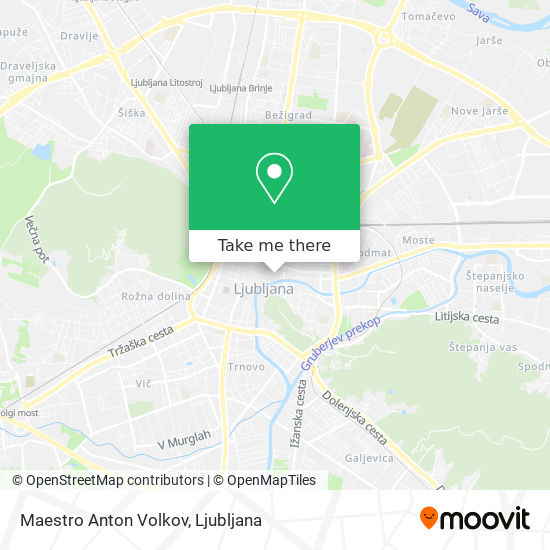 Maestro Anton Volkov map