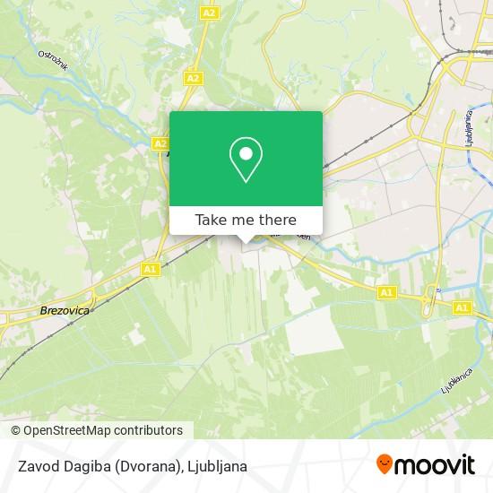 Zavod Dagiba (Dvorana) map