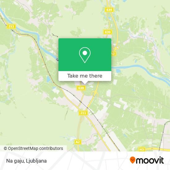 Na gaju map