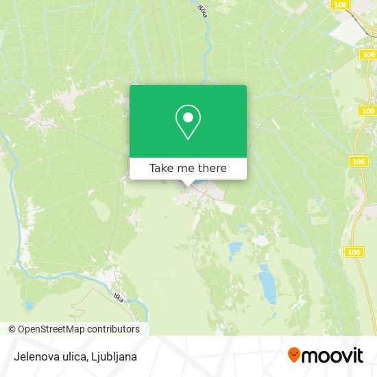 Jelenova ulica map
