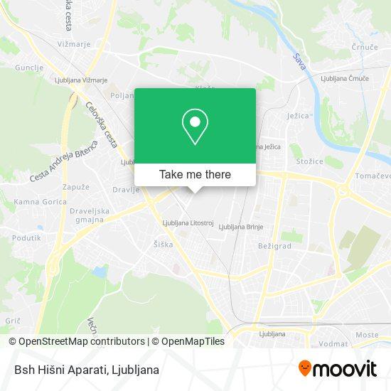 Bsh Hišni Aparati map