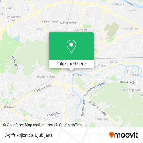 Agrft knjižnica map