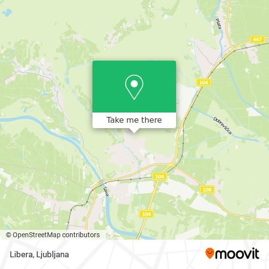 Libera map