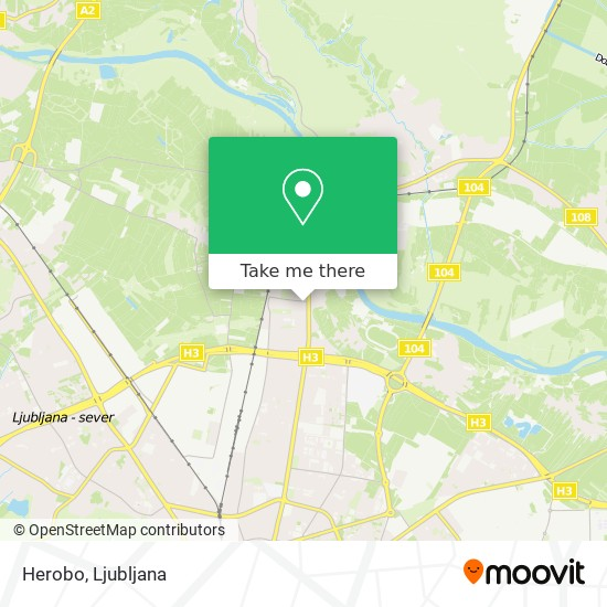 Herobo map
